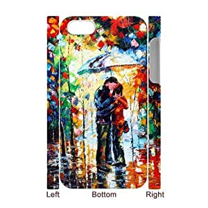 lintao diy 3D Bumper Plastic Case Of The Kiss customized case For Iphone 4/4s