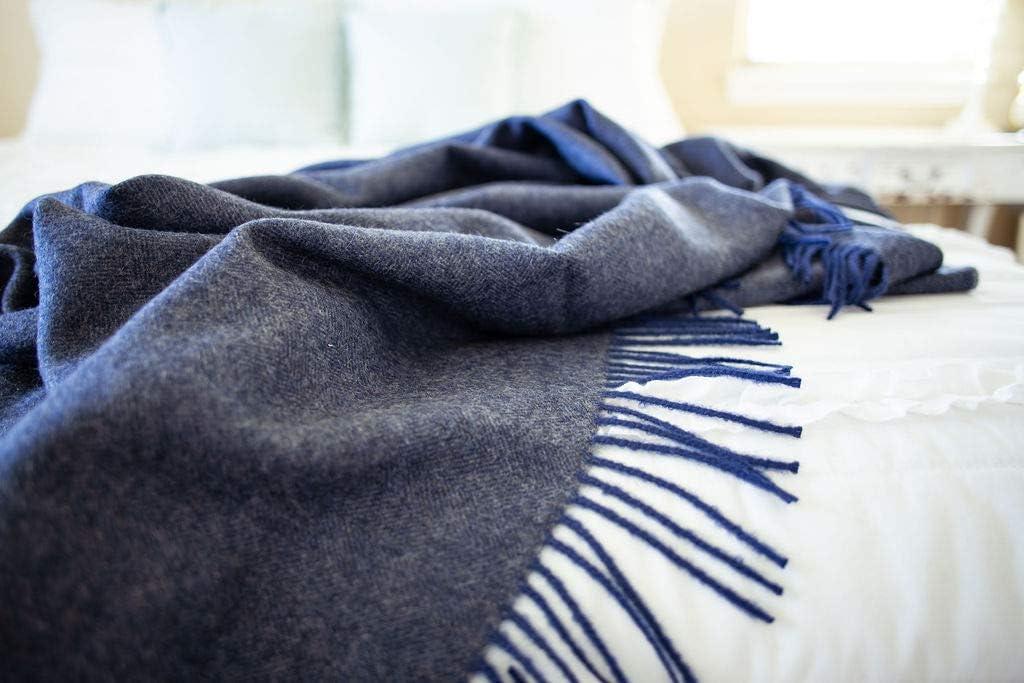 Herringbone Flannel Baby Blanket LARGE