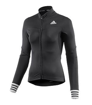 adidas Women s Cycling Jersey Adistar CD Zero 3 Long Sleeve - Black ... 8e1f7a0e7