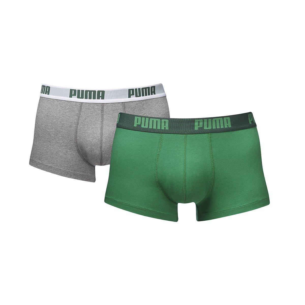 TALLA L. Puma Basic Trunk 2P, Boxer hombre (Pack de 2)