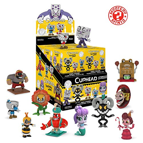 Funko Minis Cuphead (One Mystery Figure) Collectible, Multicolor