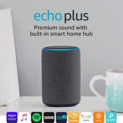 Echo Plus 2nd Gen Premium Sound With A Built In Smart Home Hub
