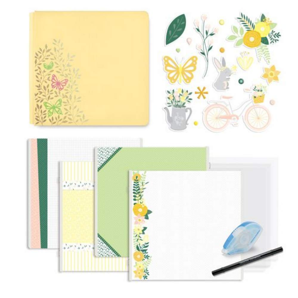 Simply Sunshine Butterfly Fast2Fab Bundle Starter Kit 12x12 by Creative Memories
