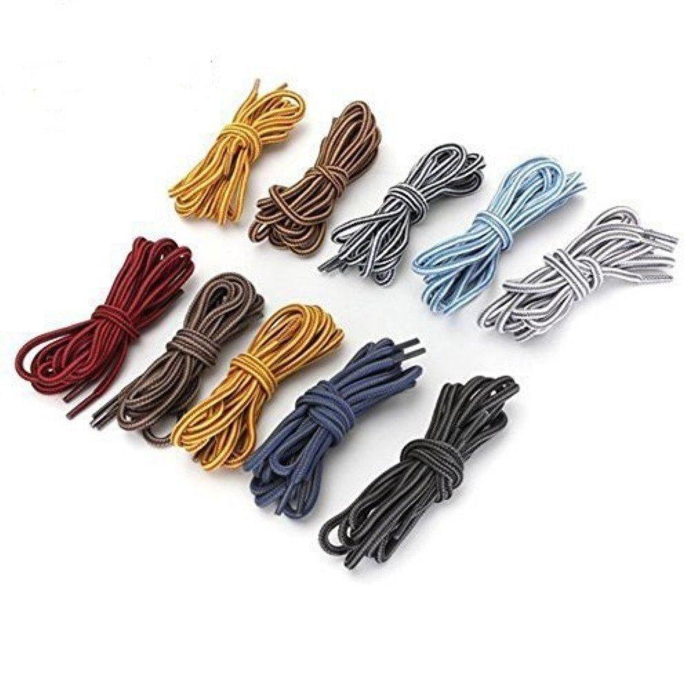 para botas de puntera de acero botas de caminar botas de senderismo redondos botas de trabajo multicolor 1/par de cordones Ungfu Mall fuertes de 120 cm