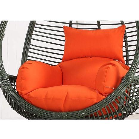 Amazon.com: Cojín para silla colgante con forma de huevo ...