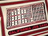 California Job Case Hand Printed Letterpress Poster
