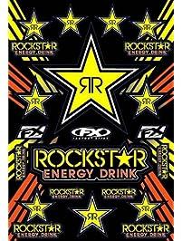 Factory Effex 15-68702 Rockstar Energy Sticker Sheet