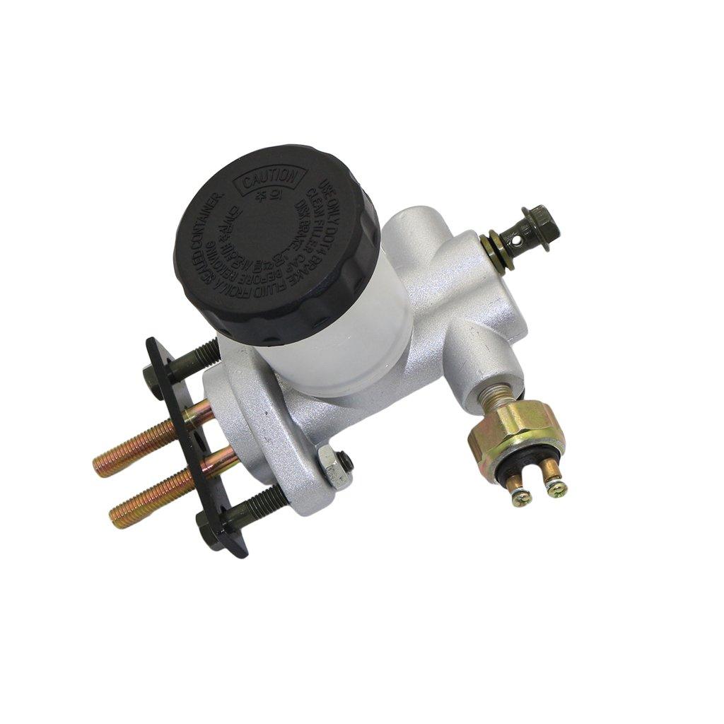 CNCMOTOK New Hydraulic Brake Master Cylinder for 90cc 110cc 125cc 150cc 200cc 250cc Go Kart Buggy Sunl BMS Kandi Roketa Kazuma Kinroad ATV by CNCMOTOK (Image #6)
