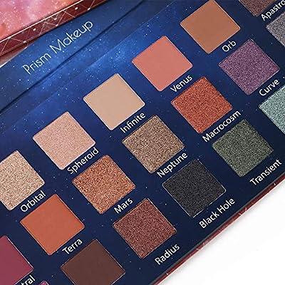 Prism Makeup 21 Colors Pigmented Eyeshadow Palette 6 Matte + 15 Shimmer Blendable Long Lasting Eye Shadow Palette Natural Colors Neutral Pigment Shadow Shimmers Make Up Cosmetics