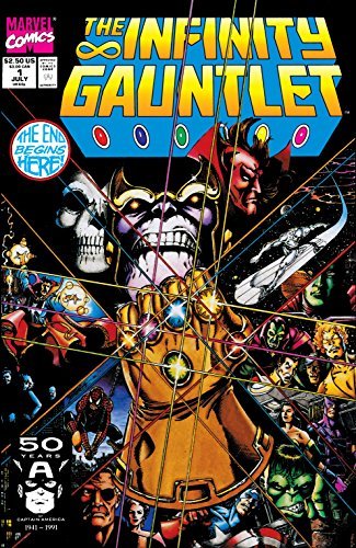 Infinity Gauntlet #1 (of 6) for sale  Delivered anywhere in USA