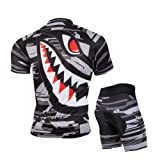 ZEROBIKE Men's Short Sleeve Breathable Cycling