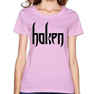 Amazoncom Vgeee Womens Haken Band Logo Affinity The Architect 100