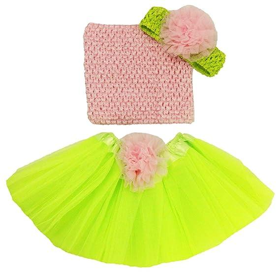 d91885196 Wholesale Princess Lime Green & Pink Boutique Tutu Set - 4 Pieces (Infant)
