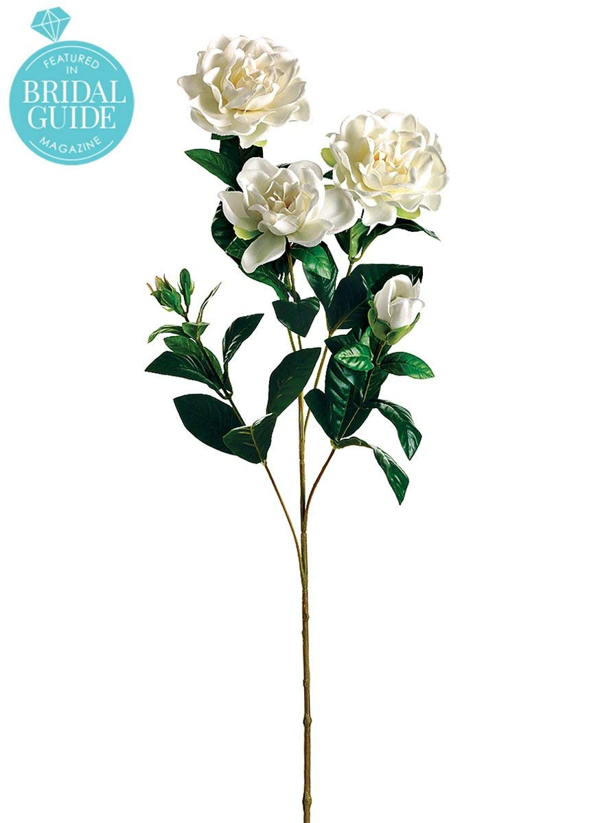 Silk-Gardenia-Flowers-in-White-27-Tall-Set-of-2
