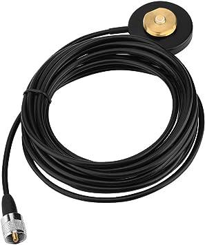Montaje de imán NMO, antena portátil UHF / VHF Cable coaxial ...