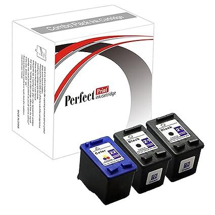 PerfectPrint - Cartucho tinta de impresora para 21XL 22XL