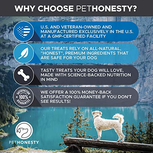Salmon Oil for Dogs - Omega 3 Fish Oil For Dogs All-Natural Wild Alaskan Salmon Chews Omega 3 for Dogs for Healthy Skin & Coat, Cure Itchy Skin, Dog Allergies, Reduce Shedding - 90 Ct. Fish Oil by PetHonesty (Image #3)