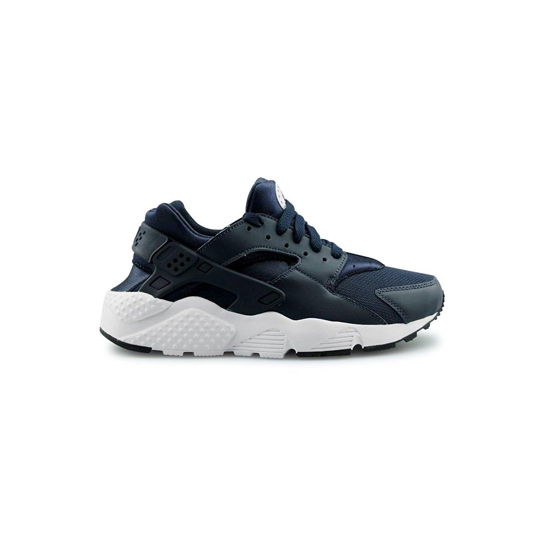 bedca7557fe2 Galleon - Nike Huarache Run Kids Trainers Obsidian - 5 UK