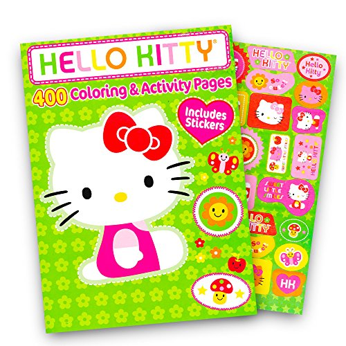 Hello Kitty Coloring Books (Hello Kitty Coloring Book Jumbo 400 Pages -- Featuring Classic Hello Kitty)