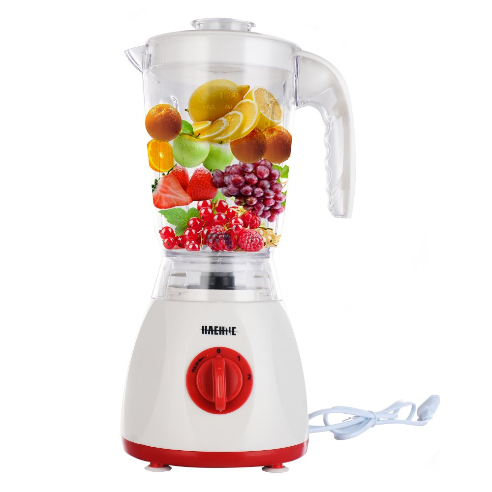 Haehne HN-3366 2-IN-1 Nutrition Fruit Blender - 1.5L 350W Plastic ...