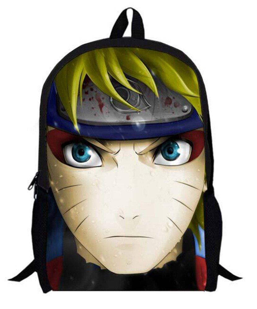 Siawasey NarutoアニメUzumaki Naruto Cartoonバックパックショルダースクールバッグ( # 19 )   B00Y30PS1O
