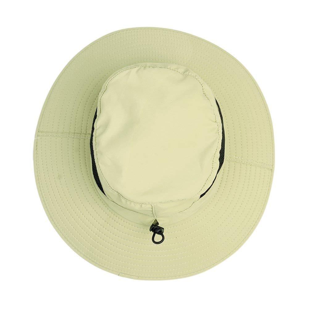 WINDCHASER Men Women Sun Hat Summer Wide Brimmed Bucket Hat UV Protection Bush Hat Foldable Safari Boonie Hat Waterproof Fisherman Cap Gift for Outdoor Activities