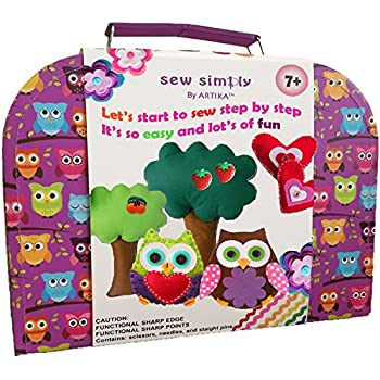 Sewing Kit For 7 To 12 Age DIY Crafts Kids The Most Wide