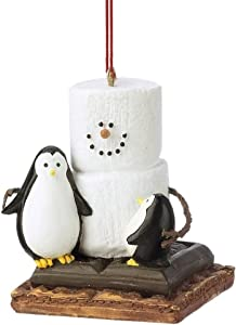 Christmas Decoration S'mores with Penguins Christmas/Everyday Ornament