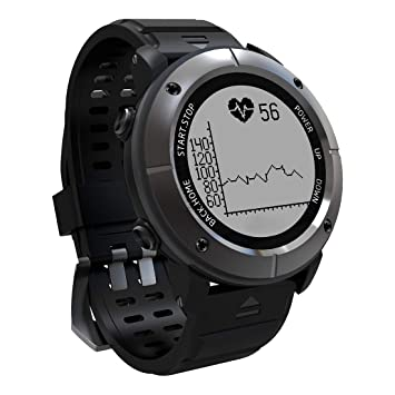 OOLIFENG GPS Reloj, Fitness Tracker con Altímetro Barómetro Brújula ...