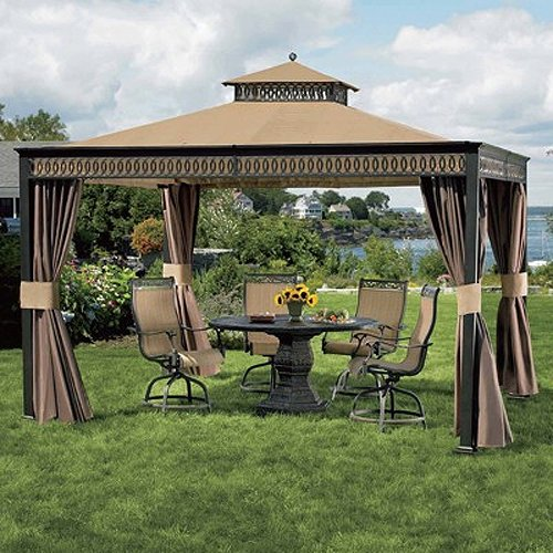 Cheap Garden Winds Living Home 10 x 12 Gazebo Replacement Canopy