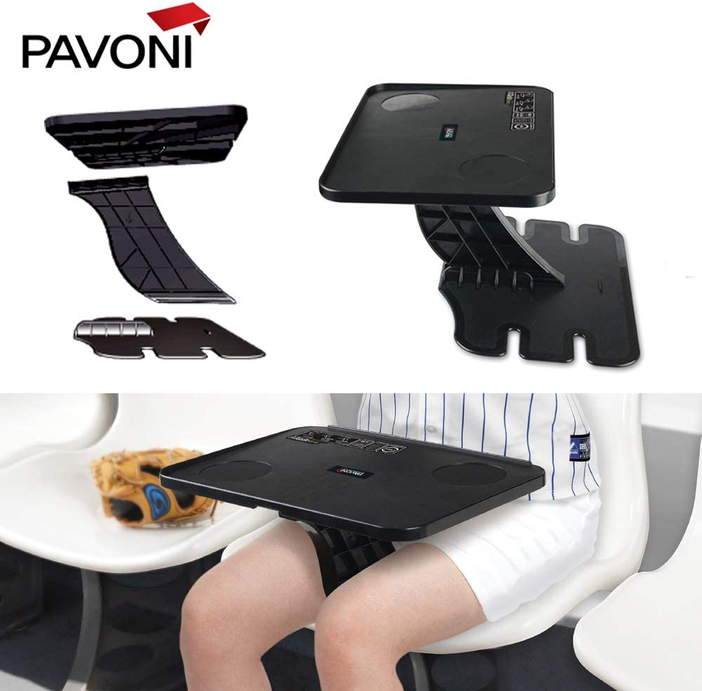 Writing Floor Easy to Assemble Couch Lightweight Pavoni Foldable Table Collapsible and Adjustable Working Reading Portable Travel with Storage Bag Gaming Laptop Desk or Eating Surface