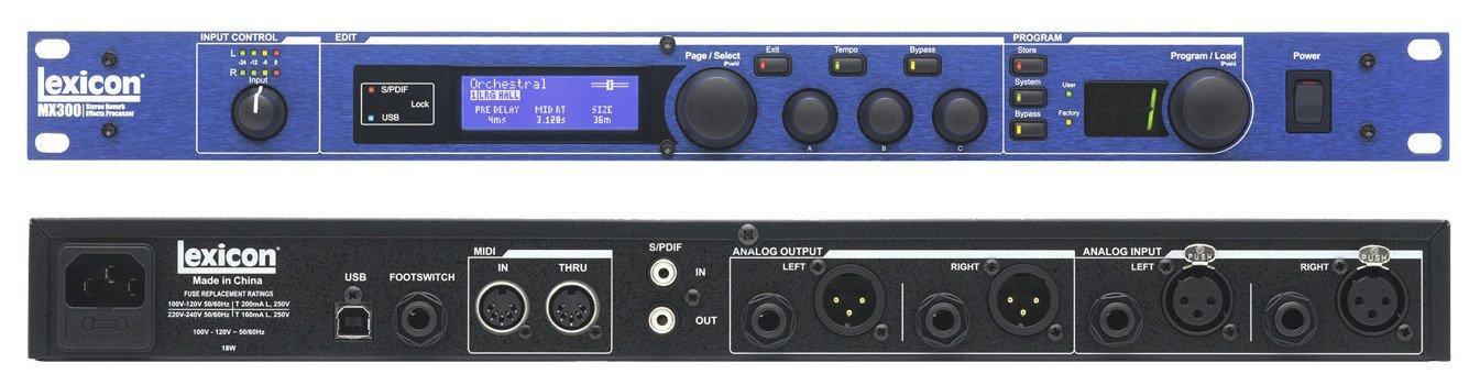 amazon com lexicon mx300 dual stereo reverb effects processor rh amazon com MX300 Specs 1993 Mazda MX3