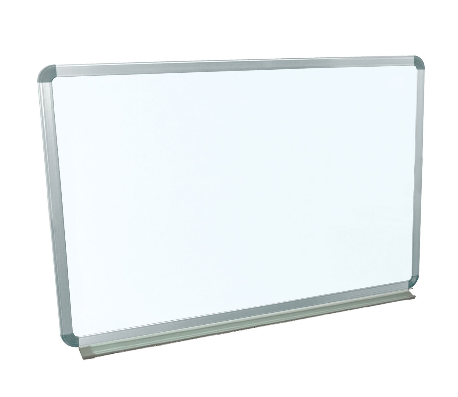 Offex Universal Dry Erase Classroom Wallmount Magnetic Whiteboard With Aluminium Frame And Tray, 36'' X 24''