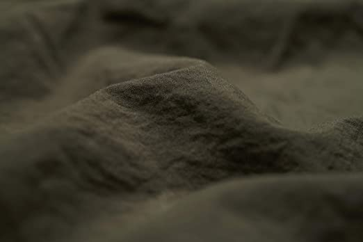 L1NK STUDIO Sabana Bajera Ajustable Cama 135 cm (135x200x35cm) 100% algodón (Percal 200 Hilos) Oliva: Amazon.es: Hogar
