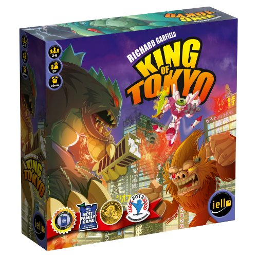 King of Tokyo, best games for 10 yr old boys birthday Christmas