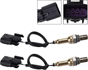 MAXFAVOR 2Pcs Upstream Downstream Oxygen Sensor Replacment for O2 Sensor Hyundai Azera Sonata KIA Amanti 234-4854 x1 234-4854 x1 02 Sensor