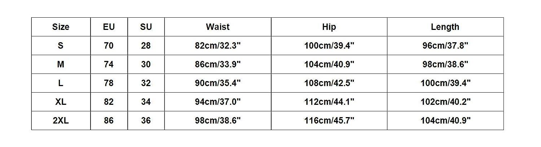 Xmiral Herrenhosen Rei/ßverschluss-Tasche Elastisch Kleiner-Fu/ß Sports Einfarbig Hose
