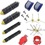 Kit ruote anteriori e kit spazzole per iRobot Roomba 500 600 700 Serie 529 550 595 620 625 630 650 660 760 770 780 790 Accessori per aspirapolvere (Genere 4)