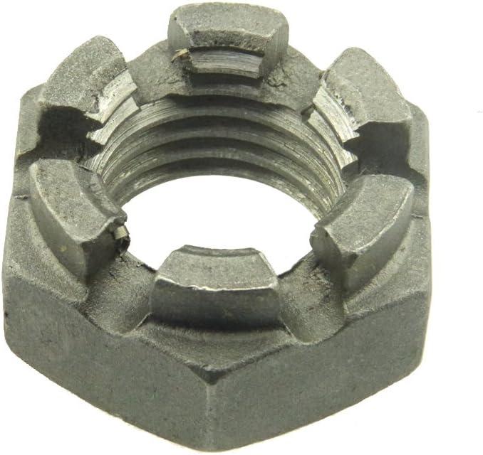 Niedrige Kronenmutter DIN 979 04 Stahl blank Feingewinde M 52 x 3-1 St/ück