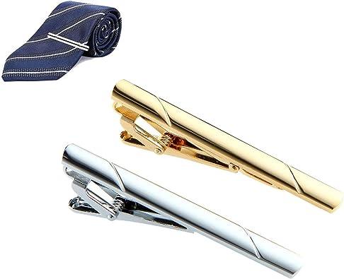 Leegoal - 2 pinzas para corbata, corbata, corbata, corbata, pinzas ...