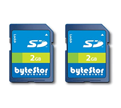 ByteStor - Pack de 2 x Tarjeta 2 GB SD (Secure Digital): Amazon.es ...