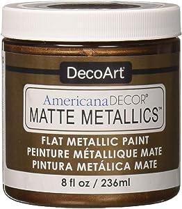 Deco Art Americana Decor Matte 8OZ Age BRZ Craft Paint