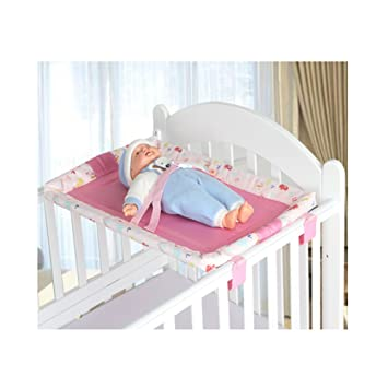 Miyaou Universal Baby Cot Top Changer 70x45 CM Portable Baby Changing Table  5 Colors (PlanALanger