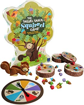 Educational Insights Cute Squirrel Board-game