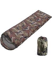 G-wukeer Sobre de Camuflaje Saco de Dormir, Cuatro Estaciones Saco de Dormir para