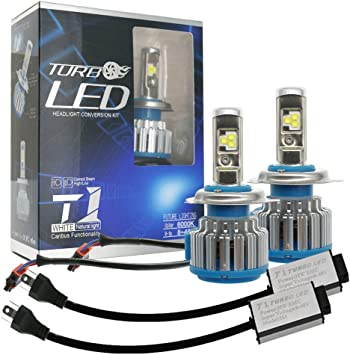 2Pcs H8 H9 H11 Car Canbus LED Lamp Headlight Kit Beam Bulb Cool 40W 8000LM 6000K
