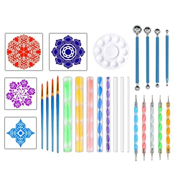 Amazon com: Gift2U 26PCS Mandala Dotting Tools Set, Mandala