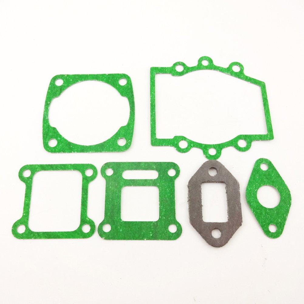 Stoneder 2/set motore guarnizione per 2/tempi 47/CC 49/cc Minimoto cinese Pocket Bike mini moto Dirt Kids ATV Quad Go Kart