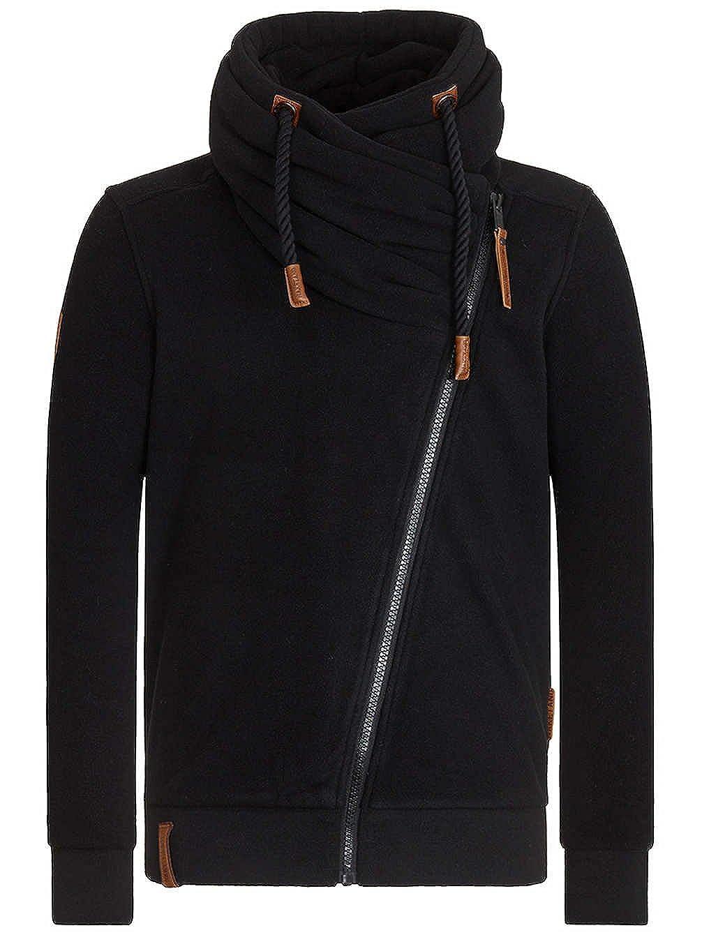 Zipped Jacket ´Gnadenlos durchgerattert II´ Naketano