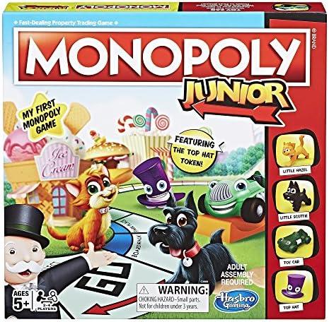 Hasbro Monopoly Junior Amazon Exclusive product image